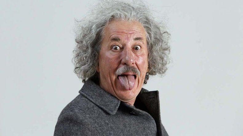 El actor australiano Geoffrey Rush personifica a Einstein en Genius.