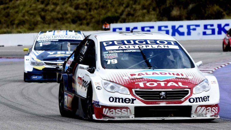 Facundo Chapur ganó ayer en la segunda fecha del Súper TC2000.