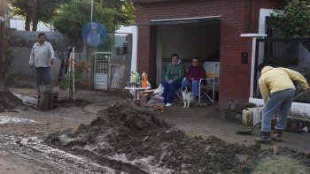 El censo se inició el viernes en el barrio Laprida, uno de los más castigados por el temporal en la zona norte de Comodoro Rivadavia.