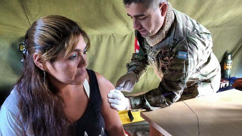 En Chubut 16.300 personas ya se vacunaron contra la gripe.
