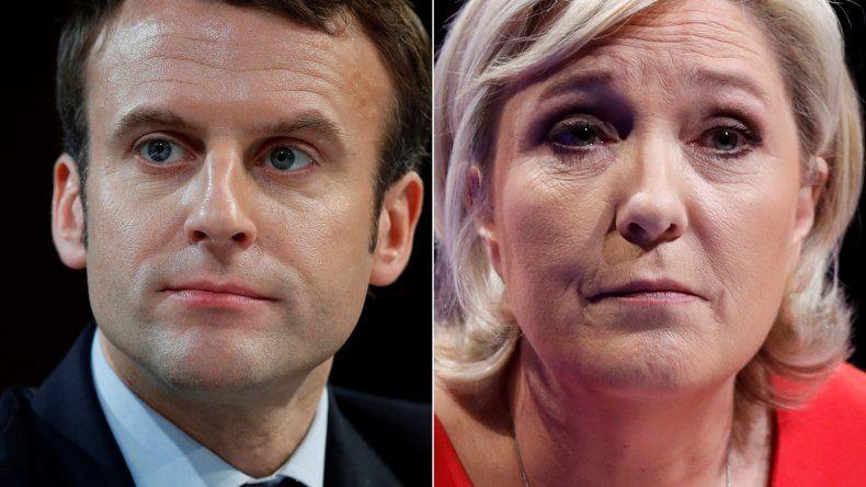 Macron y Le Pen disputarán el balotaje