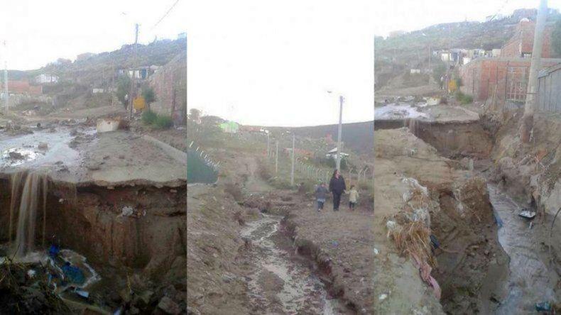Comenzaron las reparaciones en los alrededores de la Escuela N° 218