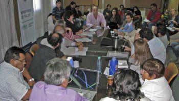 Hoy se realizó la primera reunión paritaria de Salud