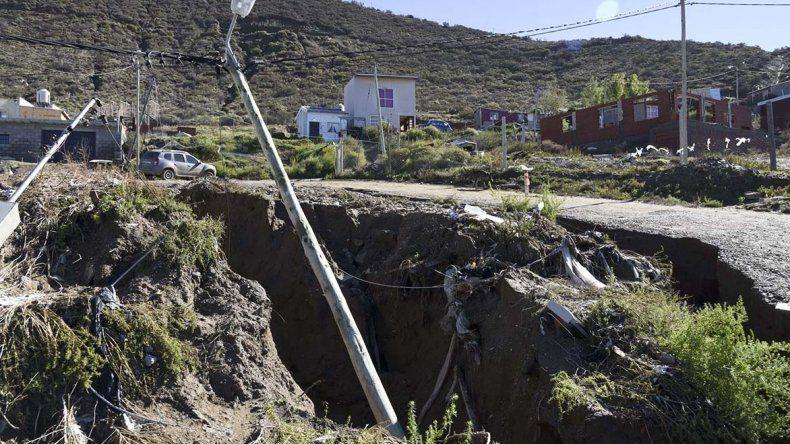 Las múltiples consecuencias del temporal que también afectaron el sistema eléctrico.