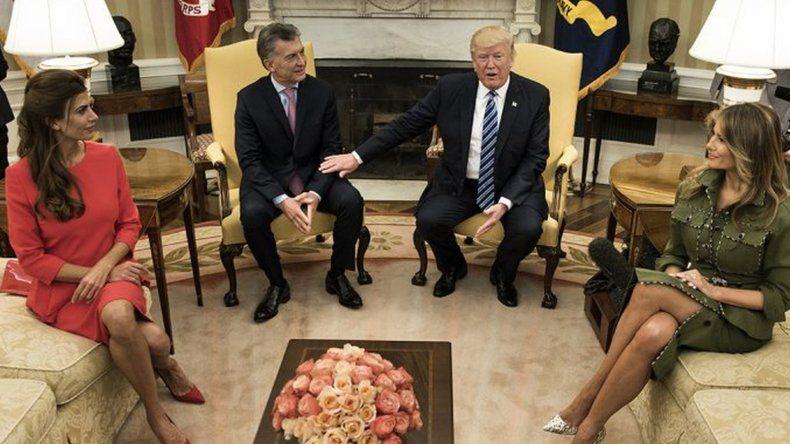 Trump sobre Macri: es un gran amigo al que no veía hace 25 años