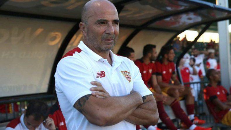 Vamos a negociar la salida de Sampaoli del Sevilla