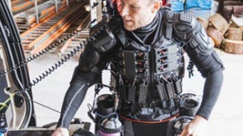 Así funciona el traje volador estilo Iron Man