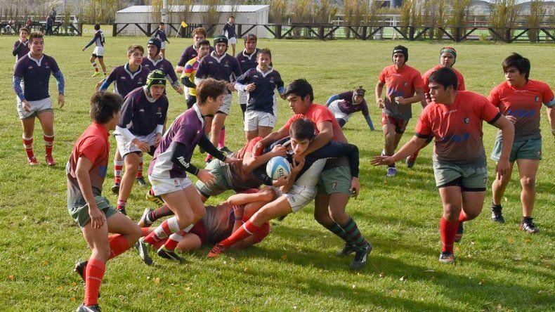 Dos jornadas intensas a puro rugby juvenil se vivieron en instalaciones de Comodoro RC.