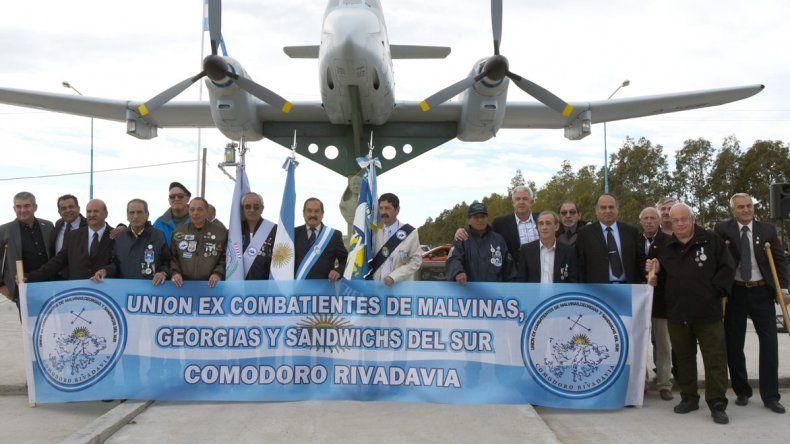 El Pucará que fue motivo de orgullo hace 35 años tiene su reconocimiento ahora en Comodoro Rivadavia.
