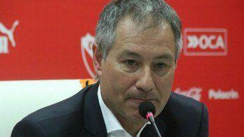Ariel Holan habló con la prensa de cara al partido que el domingo Independiente jugará con Newells.