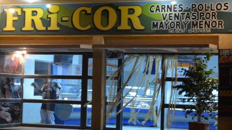 El local comercial que fue objeto de un intento de asalto por dos individuos se encuentra ubicado en el barrio Güemes.