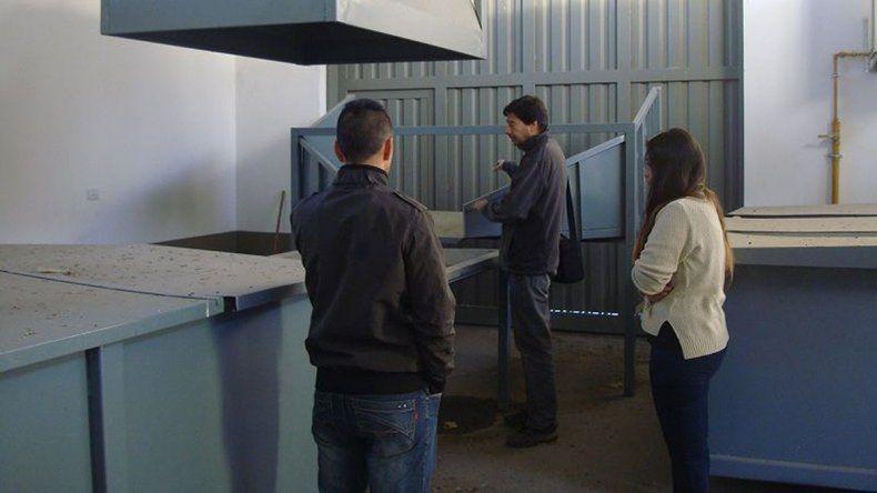 Ambiente brindó en Río Pico una capacitación sobre gestión de residuos.