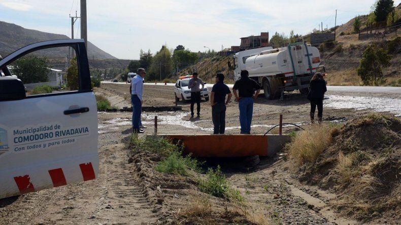 El camino Roque González se habilitaría esta semana con un desvío en el sector más crítico