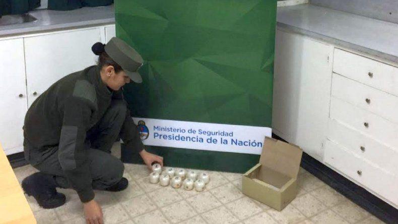 Incautan marihuana escondida en potes de crema con destino a Comodoro