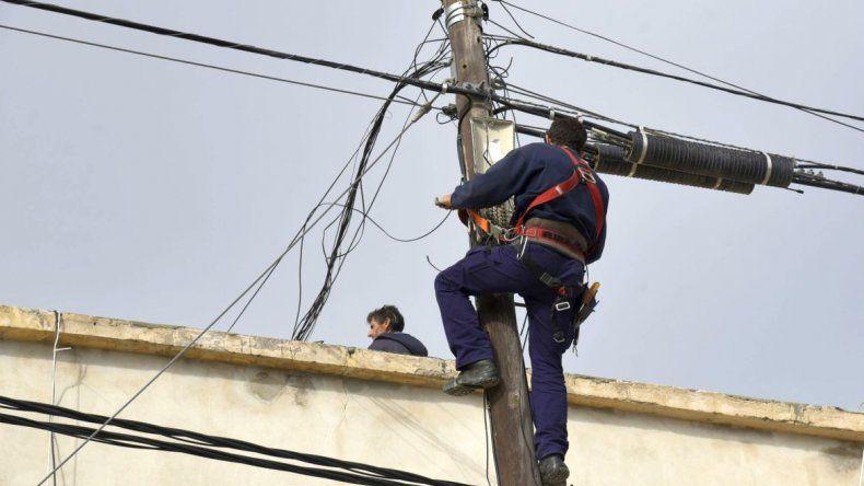 Corte de energía en 12 barrios para el jueves
