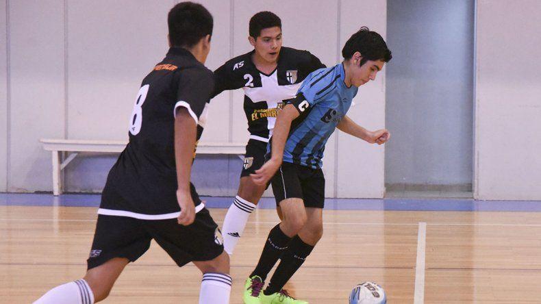El futsal promocional desplegó 17 partidos el fin de semana.