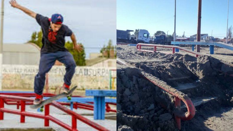 Buscan desenterrar el skate park del barrio Juan XXIII