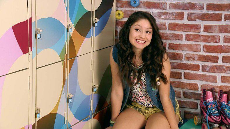 La actriz mexicana es furor por su personaje en Soy Luna.