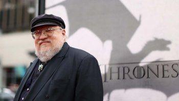 Martin trabaja en la continuidad de Game of Thrones.