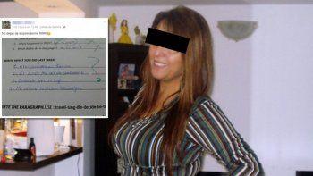 Una profesora de inglés se burló por Facebook de una alumna