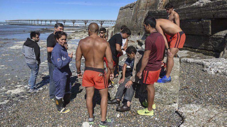 El 13 de marzo cuando Arturo Cárdenas había sido rescatado en la misma zona costera.