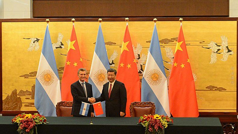 Macri se reunió con el presidente chino