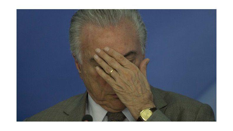 Lava Jato: grabaron a Michel Temer avalando un soborno