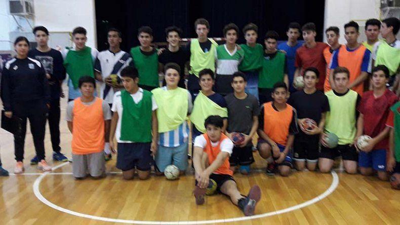 Selección de Cadetes Varones de Chubut.