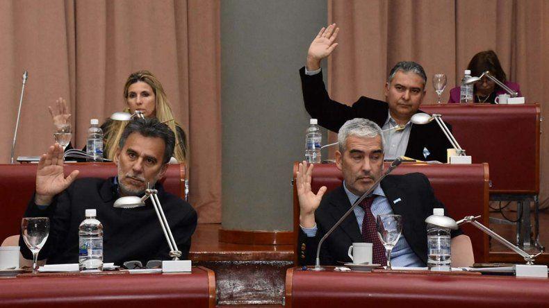La sesión del jueves en la que se aprobó la iniciativa.