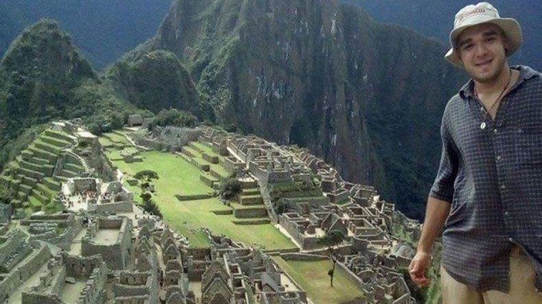 Federico Farías permanece desaparecido desde el 4 de mayo en Perú.
