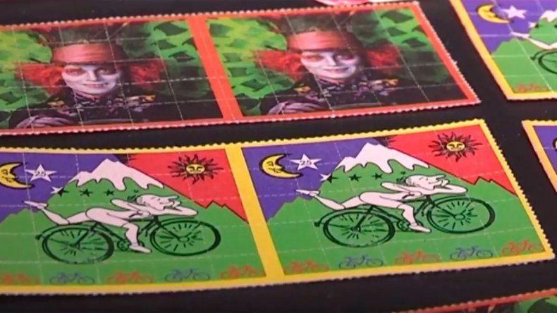 Les secuestraron 33 dosis de LSD por evadir un control de rutina