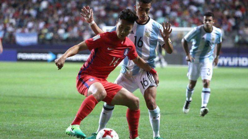 Argentina perdió ante Corea del Sur y quedó cerca de la eliminación