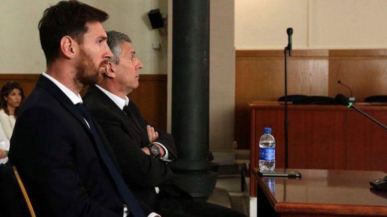 Messi fue condenado a 21 meses de prisión por evasión fiscal
