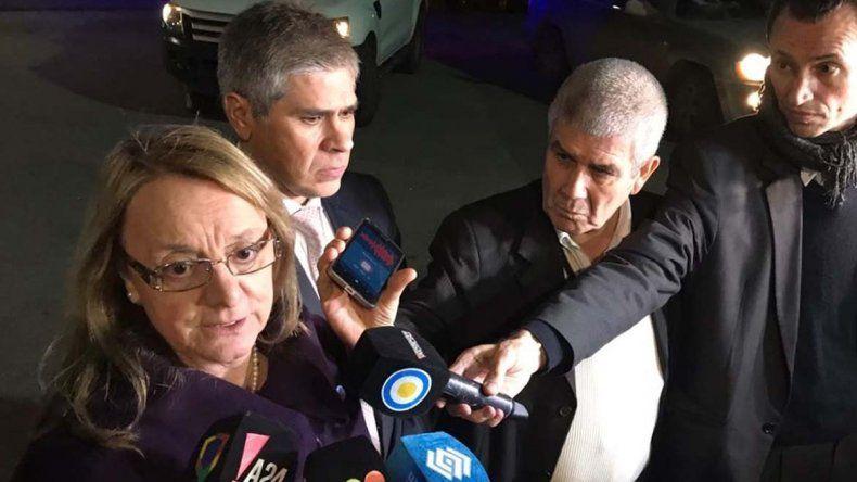Al concluir una nueva reunión con el ministro Frigerio