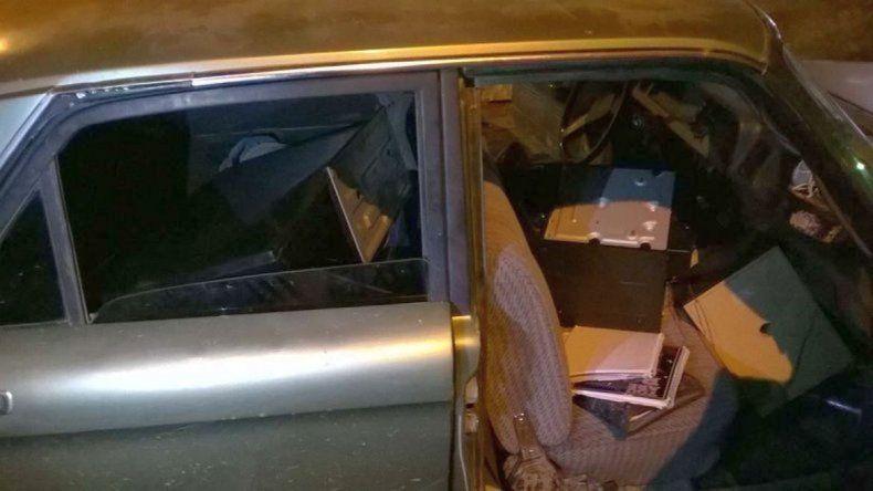 Jorge Nieves fue imputado por encubrimiento tras ser detenido transportando cosas robadas