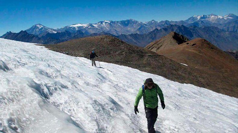 El glaciar Torrecillas no es conocido por muchos