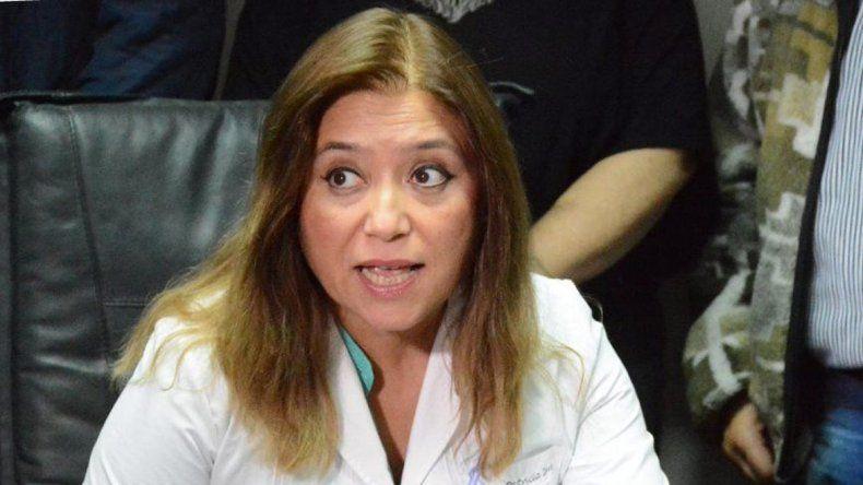 La directora del Hospital Zonal de Caleta Olivia