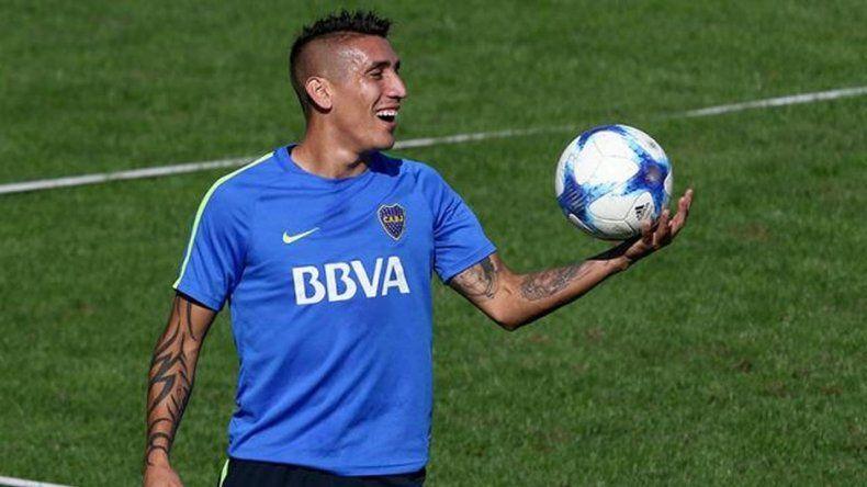 Centurión se entrenó con normalidad y jugaría ante Independiente