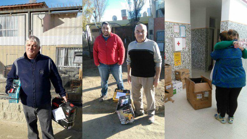 Fundación Si volvió a Comodoro para entregar herramientas y electrodomésticos
