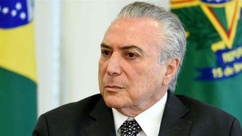 La Policía brasileña acusa a Temer de nombrar nuevo ministro para entorpecer la investigación por corrupción.