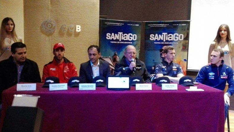 La quinta fecha del Super TC2000 se presentó ayer al mediodía en Centro Cultural de Santiago del Estero.