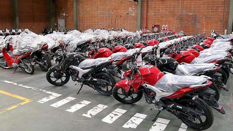 El Gobierno impulsa la venta de motos.