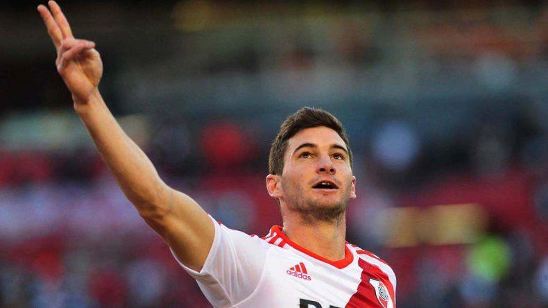 Lucas Alario podrá estar esta noche en el difícil partido que River sostendrá como visitante frente a Atlético Tucumán.