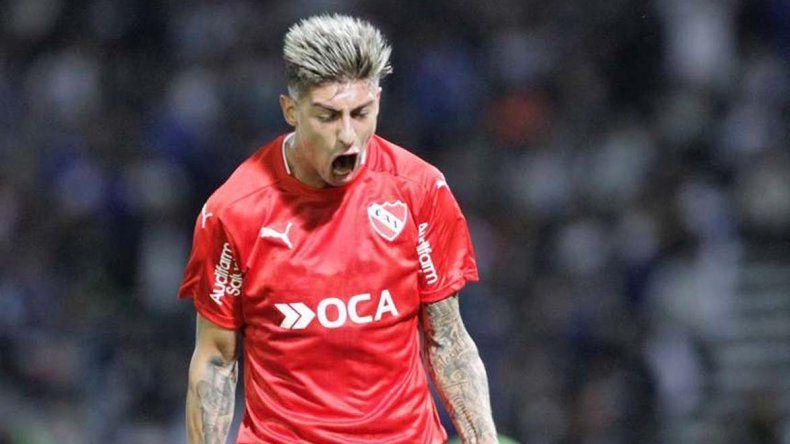 Emiliano Rigoni será esta noche titular en la formación de Independiente.