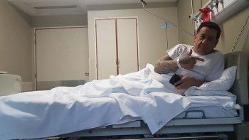 Tras un fallo histórico, Juan José Fazio -foto superior- le donó un riñón a su amigo Ariel Díaz -izquierda-.
