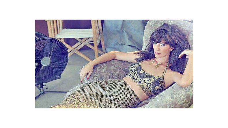 La producción súper sexy de Griselda Siciliani para una revista