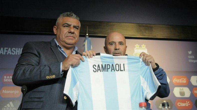Jorge Sampaoli ya es oficialmente el DT de la selección