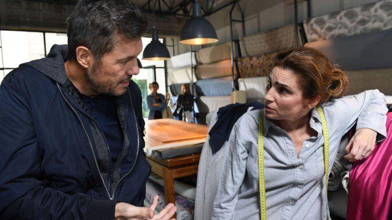 Valeria Bertucelli se convertirá en directora de cine de la mano de Tinelli