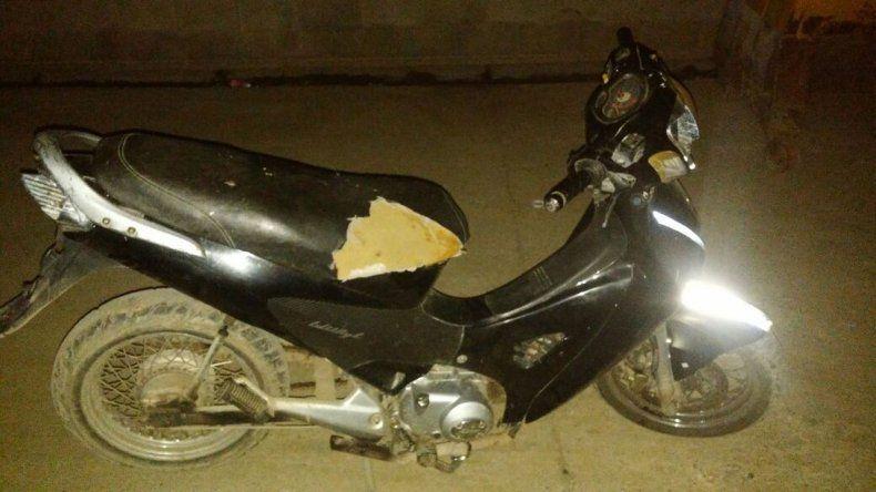 Recuperaron una moto que había sido robada