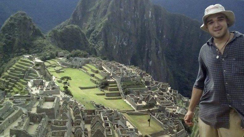 Encontraron un cuerpo en Machu Picchu y creen que es el joven argentino